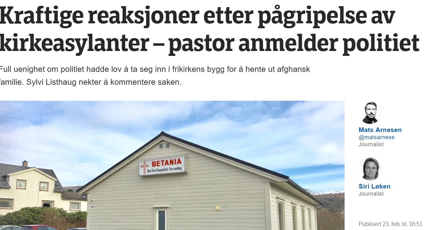 PASTOR FRANK HÅVIK, Nytt Liv Sunnhordland (en menighet i De Frie Evangeliske Forsamlinger)